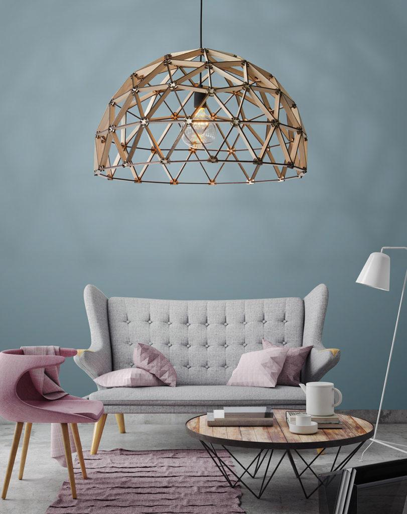 Binthout koepellamp, design verlichting hengelo, adolfs twente, design verlichting overijssel